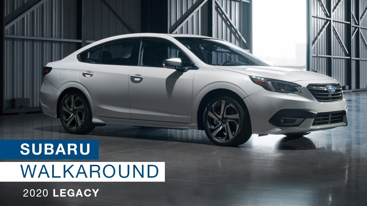 All New 2020 Subaru Legacy New Model Walkaround Youtube