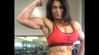 51 years young muscle woman Cheryl Mears