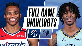 Game Recap: Grizzlies 127, Wizards 112