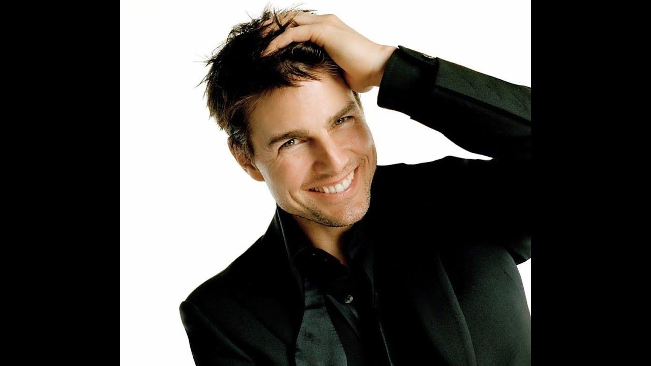 かわいい笑顔のトム・クルーズ