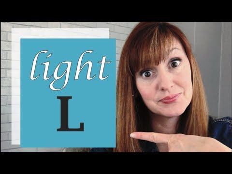 How To Pronounce The L Sound In American English Part 1 | The Light L Sound | L Vs R