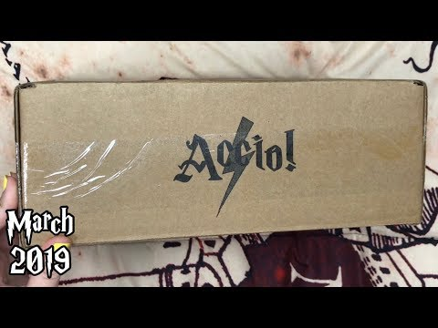 March 2019 Accio! Box Unboxing | Harry Potter
