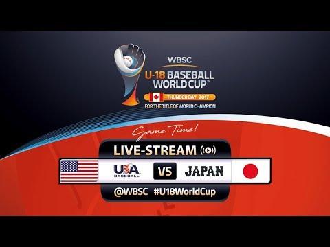 USA v Japan - WBSC U-18 Baseball World Cup 2017 アメリカ代表対日本代表