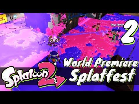 [2] Splatoon 2 Splatfest World Premiere w/ GaLm and Tom