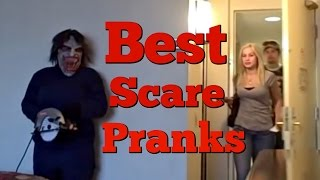 BEST SCARE PRANKS COMPILATION - Pranksters In Love