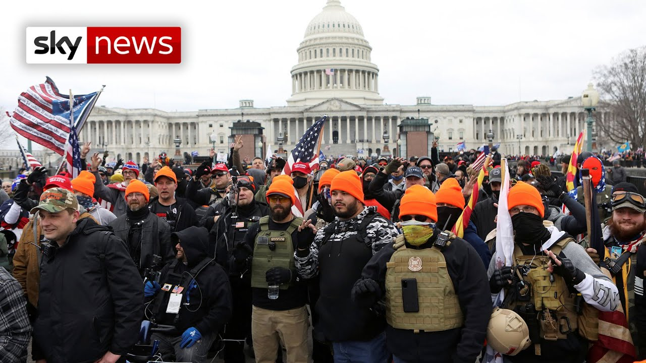 New footage emerges from Capitol building riot