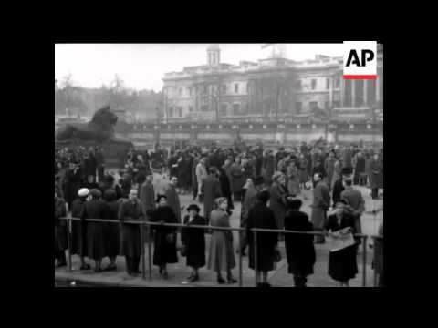 Funeral of King George VI - Sound - Part Natural Sound - 1952