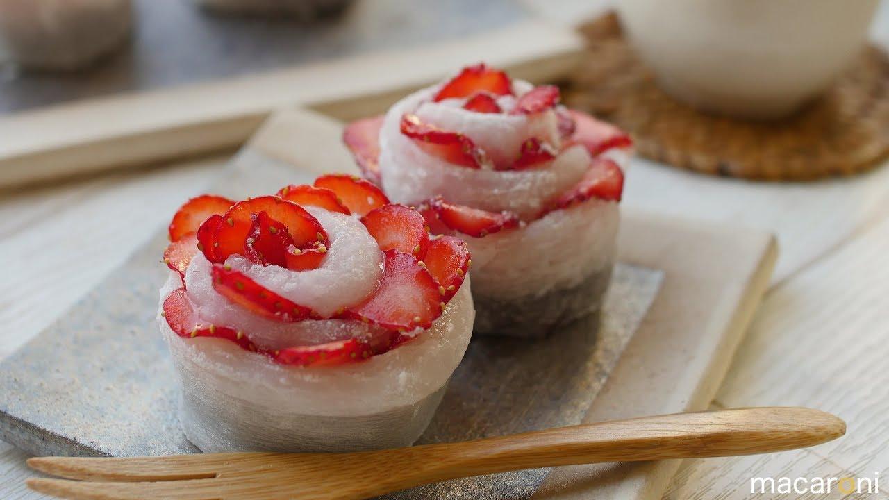 レシピ 苺 大福