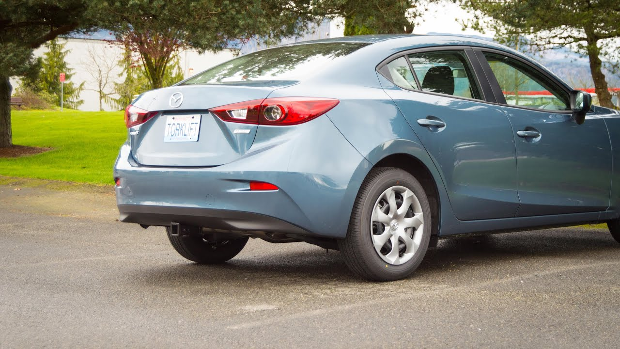 2014 2015 mazda 3 sedan stealth ecohitch trailer hitch torklift  [ 3000 x 1687 Pixel ]