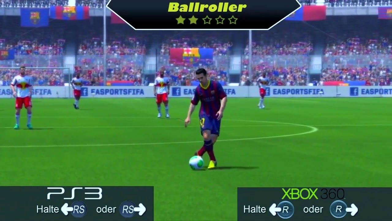 All skill moves fifa 14 ps3