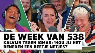 Sander maakt onhandige opmerking: 'Je bent ook oud, toch?' | De Week Van 538