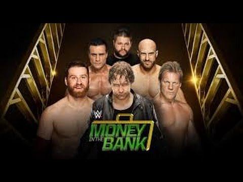 Dean Ambrose vs Cesaro vs Sami Zayn vs Kevin Owens vs Chris Jericho vs Alberto del Río l MITB