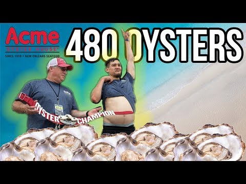I EAT 480 OYSTERS!! 2018 ACME OYSTER WORLD CHAMPIONSHIP!!