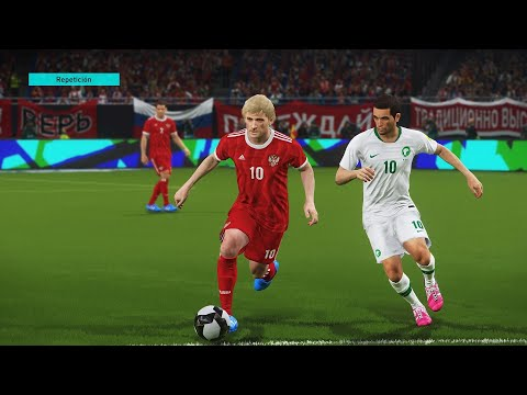 RUSIA VS ARABIA SAUDITA - MUNDIAL RUSIA 2018 (FIFA WORLD CUP 2018)