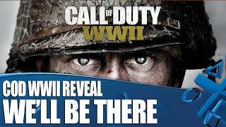 Call Of Duty WWII Reveal - We'll Be There! thumbnail