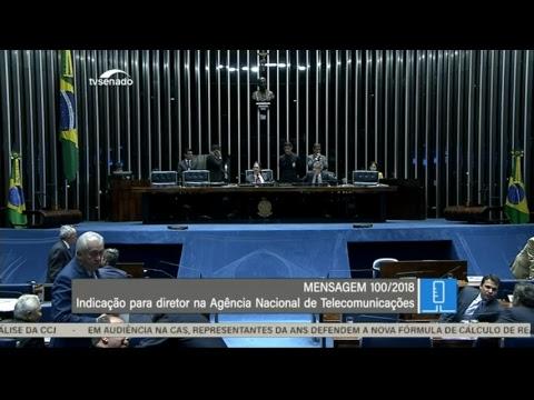 Sessão deliberativa - TV Senado ao vivo - Plenário - 28/11/2018