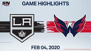 NHL Highlights   Kings vs Capitals – Feb. 4, 2020