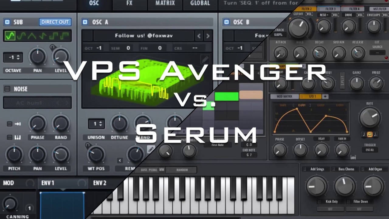 Serum vs  Avenger (Part 2)