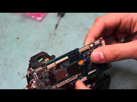 Ремонт зеркального фотоаппарата Sony Alpha SLT-A33  часть 1