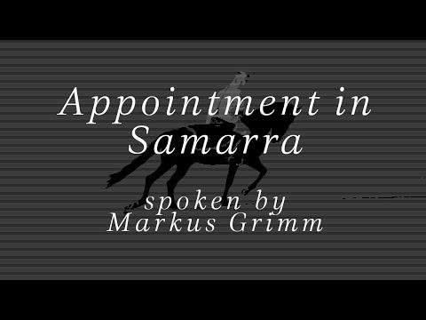 Markus Grimm markus grimm appointment in samarra