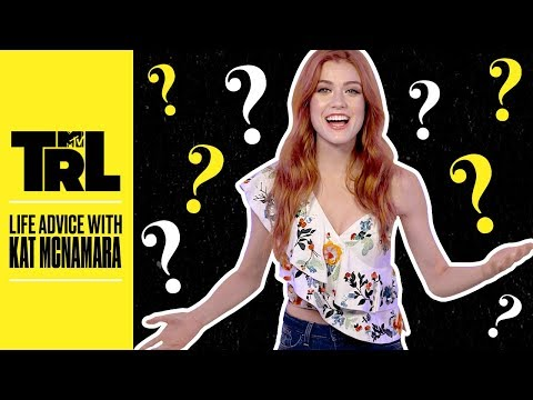 Katherine McNamara Offers Advice On How To Lower Stress & Stay Positive | TRL