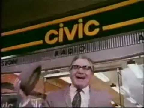 Classic Ads: Civic with  Harry Worth