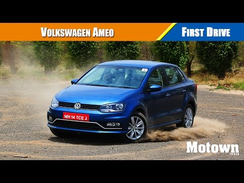 Volkswagen Ameo | First Drive | Road Test Review | Motown India
