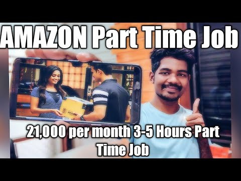 Amazon flex part Time job 3-4 hours per day 21,000 salary per month