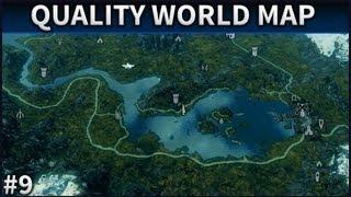 Skyrim Mod Spotlight | #9 | A Quality World Map, With Roads