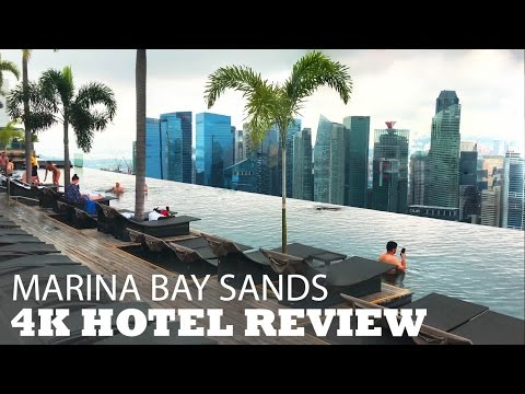 Marina Bay Sands Singapore 4K Hotel Video Review