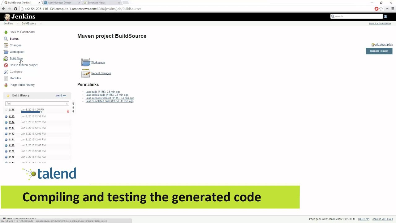 Continuous Integration with Talend CI Builder 6 3 - Talend