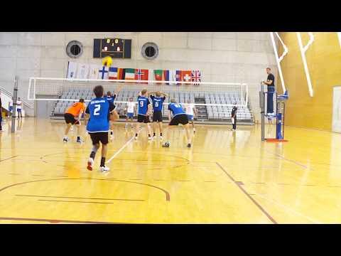 EUSA Volleyball Championships 2013 Pool Frederick University - Munich