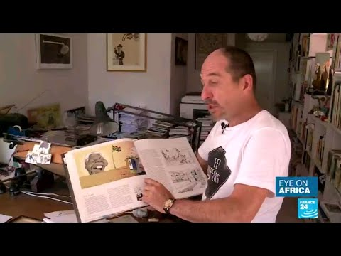 South African cartoonist Zapiro receives top French cultural award