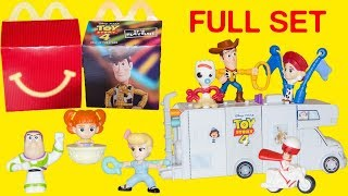 Toy Story 4 McDonalds Happy Meal 2019 | Build your own RV