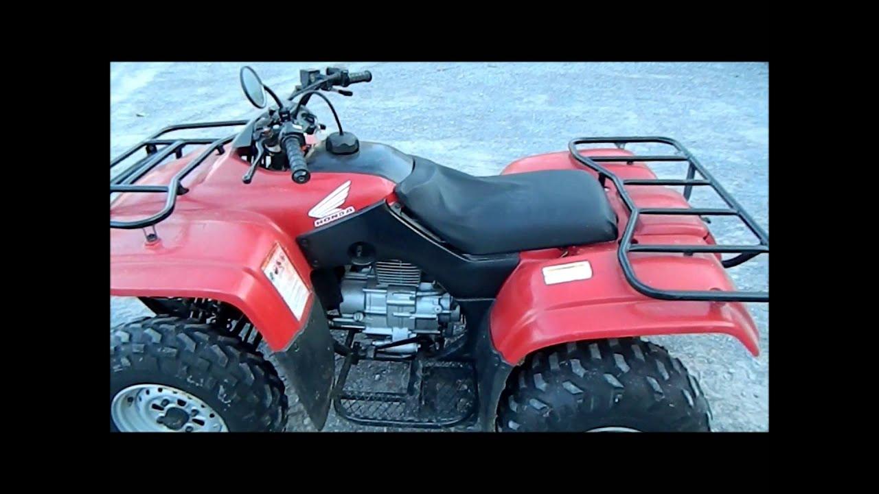 12/13/14 AUCTION - 2002 Honda 250 Recon 4-wheeler - YouTube