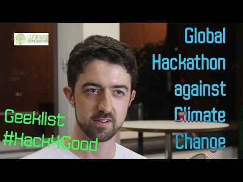 Climate Change Global Hackathon - Hack4Good - Dan Cunningham