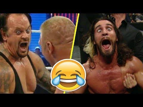 لقطات مضحكة في المصارعة الحرة   WWE FUNNY MOMENTS