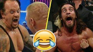 لقطات مضحكة في المصارعة الحرة - WWE FUNNY MOMENTS