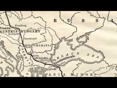 Die Berlin-Bagdad Railway - 1889