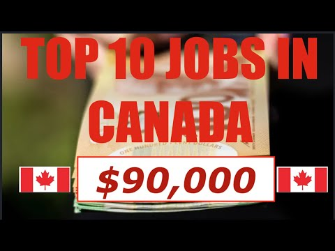 Top 10 Jobs In Canada 🇨🇦 2019 (with Salary) | Skills In Demand