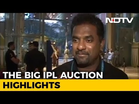 IPL 2018 Auction: We Got The Side That We Wanted, Says SRH's Muralitharan