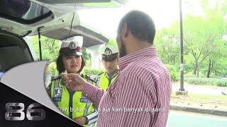 86 Penertiban Rambu Lalu Lintas di Cawang - Brigadir Herlina Part 1