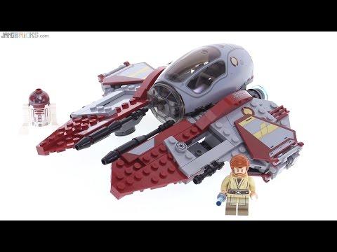 LEGO Star Wars 2016 Obi Wan's Jedi Interceptor review ...