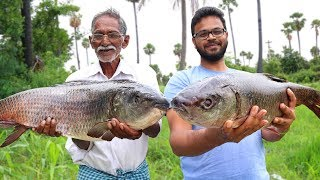 Big Fish Fry Recipe | Giant Fish Fry | Big Fish Recipe by Grandpa