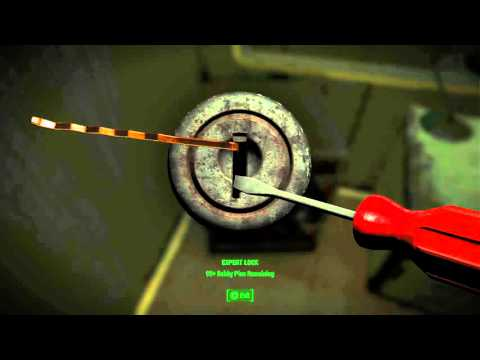 Lockpicking To Level Up!?!? - Fallout 4 Gameplay + Locations