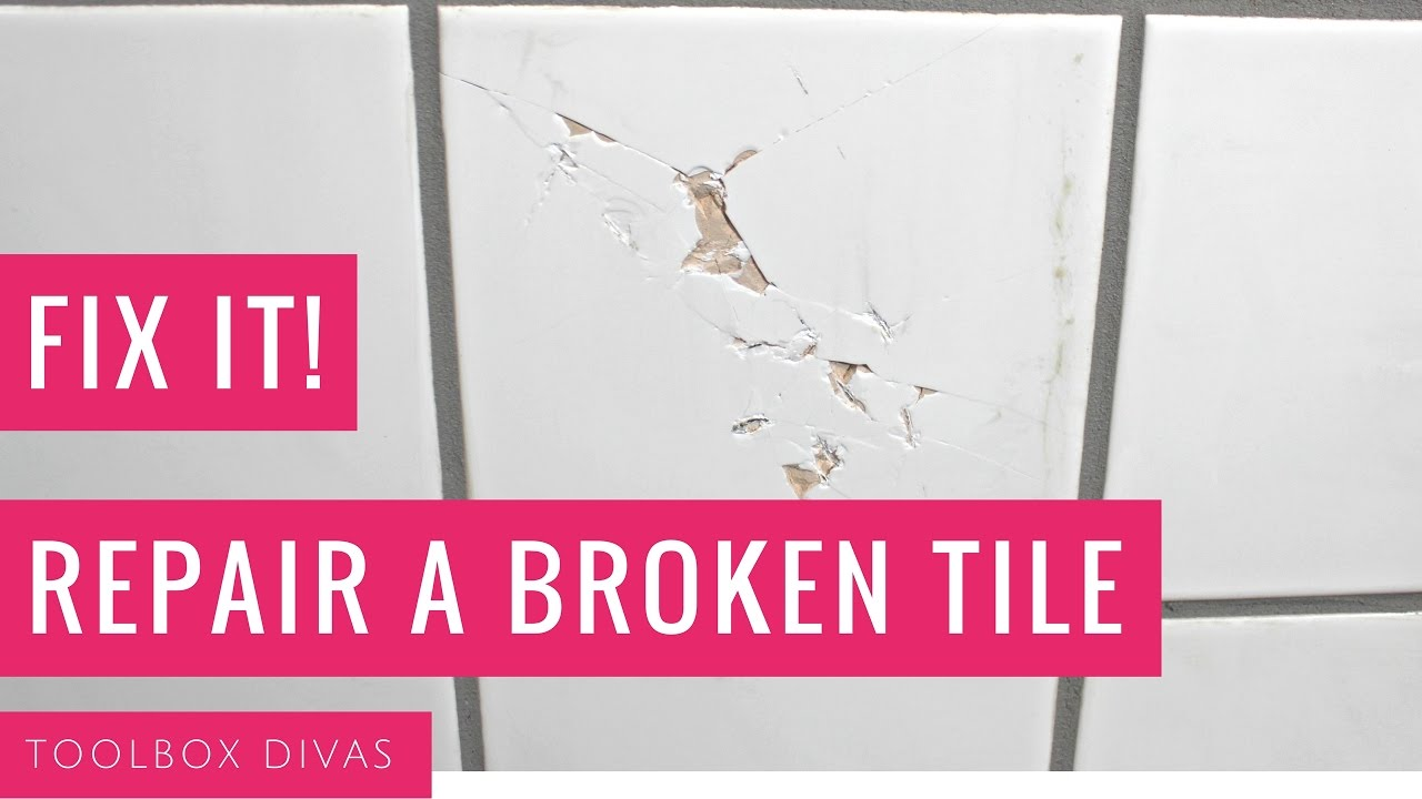How to replace a broken tile youtube dailygadgetfo Images