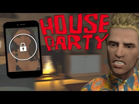 TRYING TO UNLOCK HER PHONE & PERFECT DISTRACTION | HOUSE PARTY GAME
