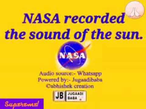 Sound of sun by nasa - YouTube