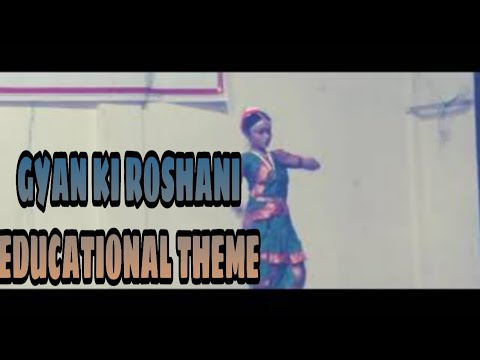 education theme dance: gyan ki roshani dance performance by surekha jamkar