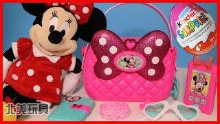 迪士尼米妮的手提包玩具和奇趣蛋 北美玩具